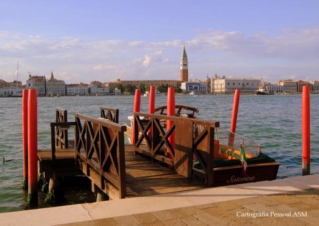 San Marco desde a ilha da Giudecca, Veneza.