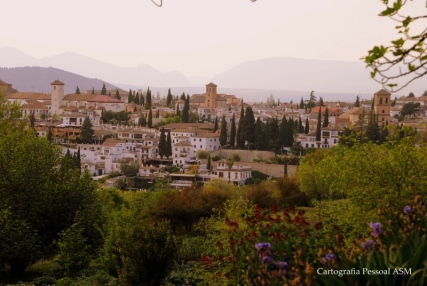 Granada desde La Alhambra.