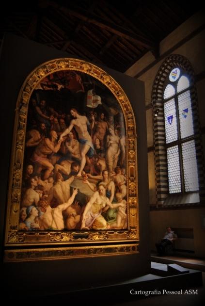 Agnolo Bronzino, «Discesa di Cristo al Limbo», 1552.