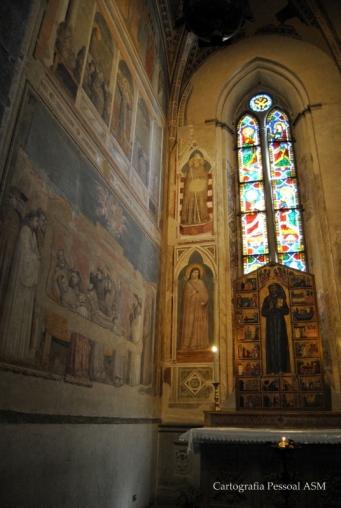 Frescos de Giotto di Bondone.