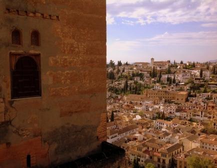 Granada desde o Alhambra.