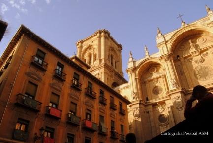A catedral de Granada.