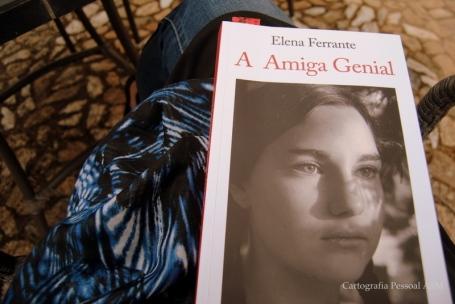 """Elena Ferrante, """"A amiga Genial"""", Relógio d`Água."""