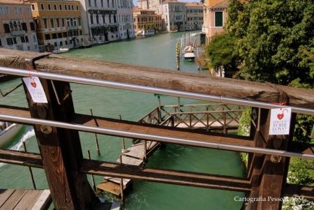 A campanha de prevenção...em nome de Veneza.