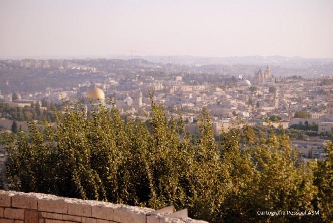Jerusalém desde o Monte das Oliveiras.