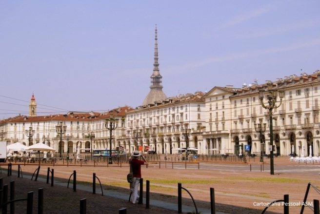 Turim, Piazza Vittorio Veneto.